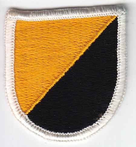 U S  Army Ranger beret flashes & wings ovals