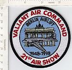 Berlin Airlift 21st Air Show 1948-1998 me ns $3.00