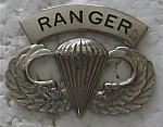 Airborne Wings basic RANGER arch bfcb $5.00