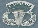 Airborne Wings basic AIRBORNE arch bfcb $6.85