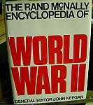 Rand McNally Encyclopedia of WW2 1977 hc dj $40.00