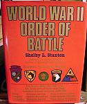World War II Order of Battle by Shelby Stanton hc dj 1984-$200.00