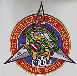 USMC 1st Bn 9th Marines WALKING DEATH ce ns $4.99