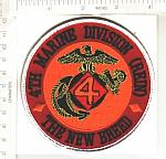 USMC 4th Marine Div (REIN) The New Breed $4.00