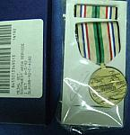 U.S. Army Southwest Asia medal in box $22.50
