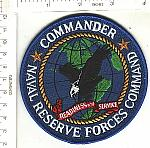 USN Commander Naval Reserve Forces Command ns me $3.00