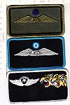 Pilot Name Patch U.S. and other countries