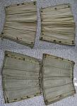 Army officer canvass leggings (pair) 1927 or so $15.00