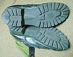Vietnam Jungle Boots with spike protectors photo of soles